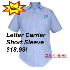 Postal Uniforms Letter Carrier Short Sleeve Shirt $17.99