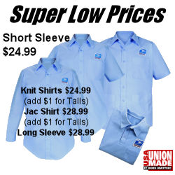 Postal Uniforms Letter Carrier Short Sleeve Shirts $24.99
