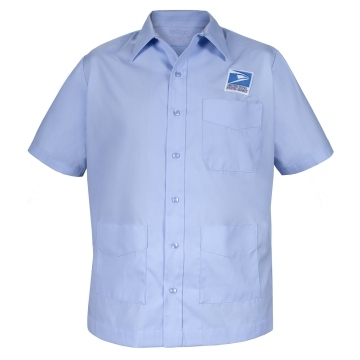 Letter Carrier Men's Jac Shirt Item: D131