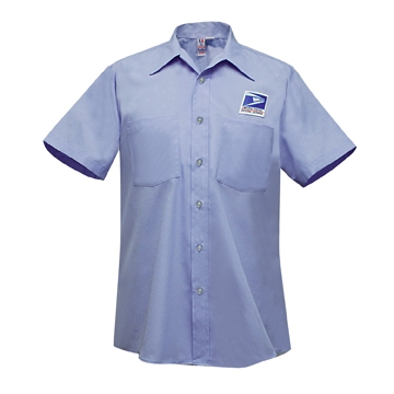 Letter Carrier Men's Flying Cross Short Sleeve Shirt Item: FUS/S