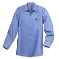 Mail Handler/Maintenance Men's Shirt Long Sleeve Light Blue Item: D146PSBL