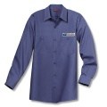 Mail Handler/Maintenance Men's Shirt Long Sleeve Navy Blue Item: D146PSNV