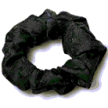 Non Allotment Women's Retail Clerk Scrunchie Navy Eagle Logo Item: NASCRUNCHIE