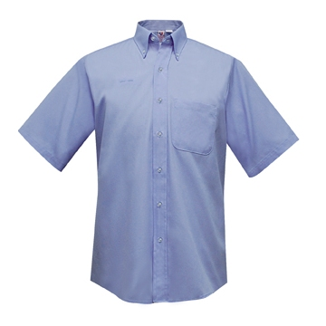 Window Service Men's Window Clerk Shirt Short Sleeve Item: D701